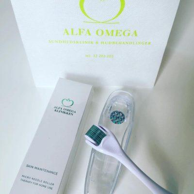 Alfa Omega Klinikkens egen hudforbedrende Dermaroller