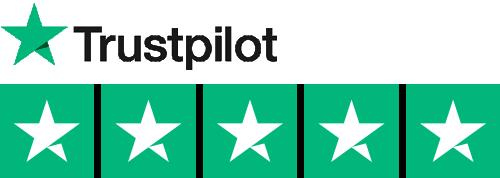 Trustpilot 5 stjerner - bedste anbefalinger