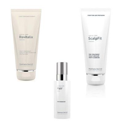 Sæt (Revitalix, Scalpfit & Hair serum spray)